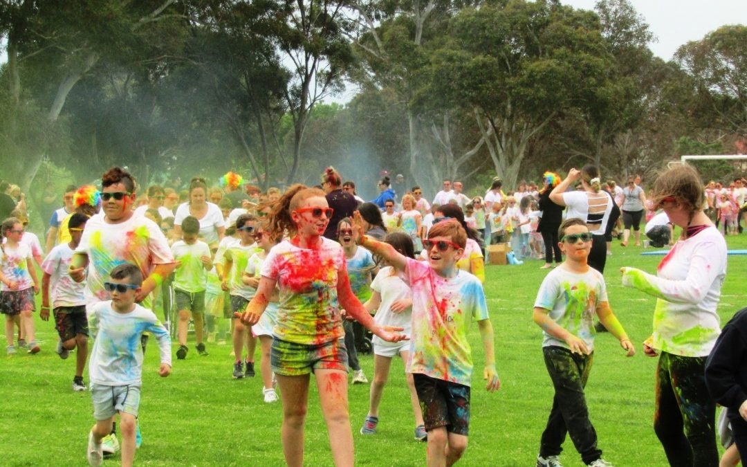 Seaford Rise Colour Explosion Fun Run 2020